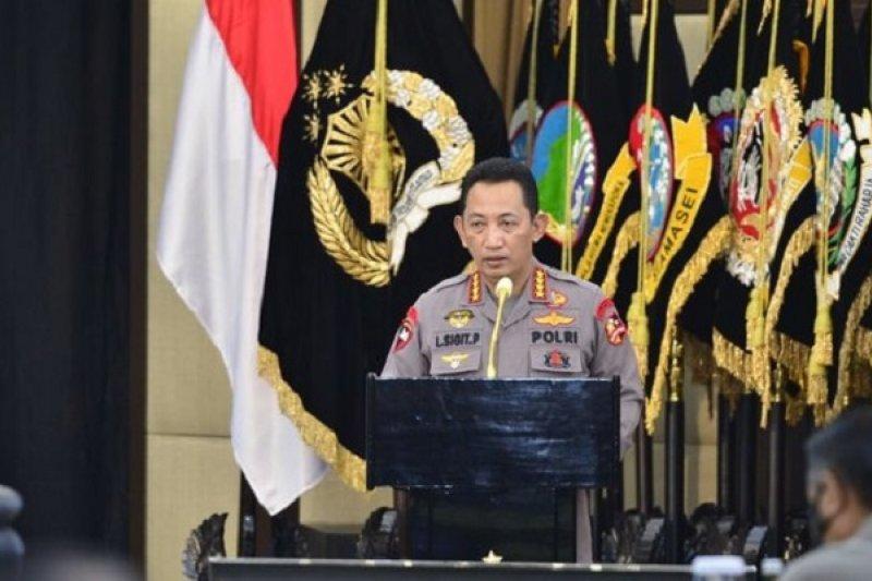 Kapolri perintahkan pembentukan Kampung Tangguh Narkoba di seluruh Indonesia