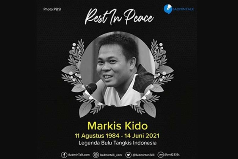 Markis Kido meninggal dunia saat sedang main bulutangkis