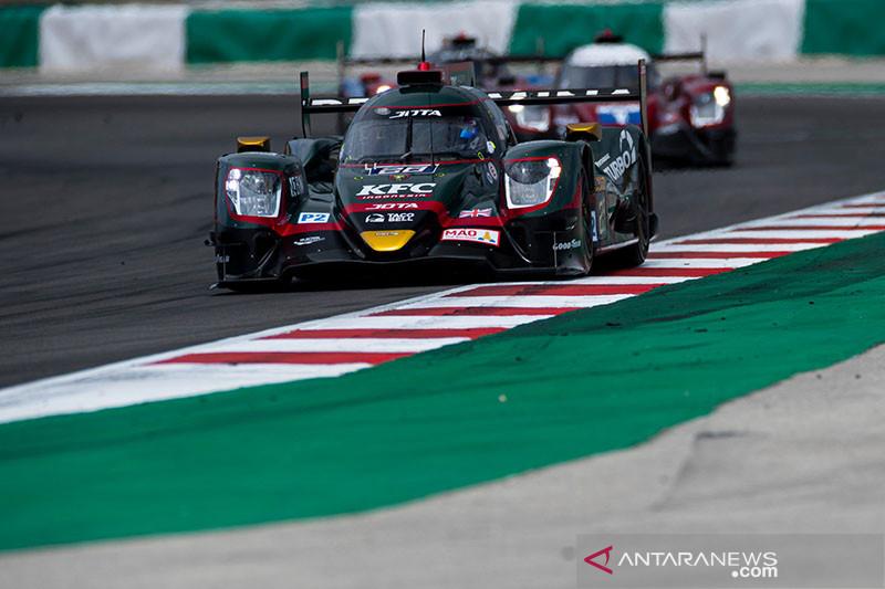 Sean Gelael harus puas di posisi dua balapan ketahanan Portugal