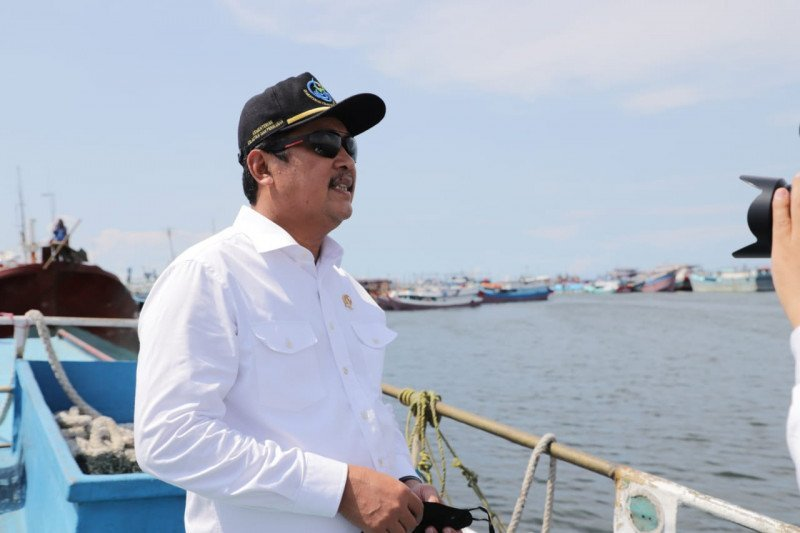 Menteri Kelautan dan Perikanan Trenggono optimistis RI bakal kuasai pasar udang global