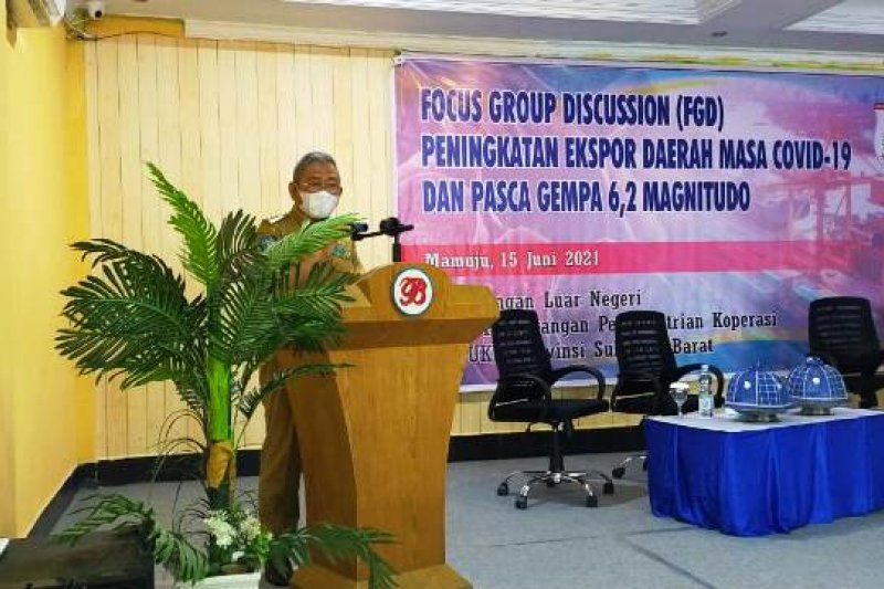 Gubernur Sulbar dorong peningkatkan ekspor meski masih pandemi COVID-19