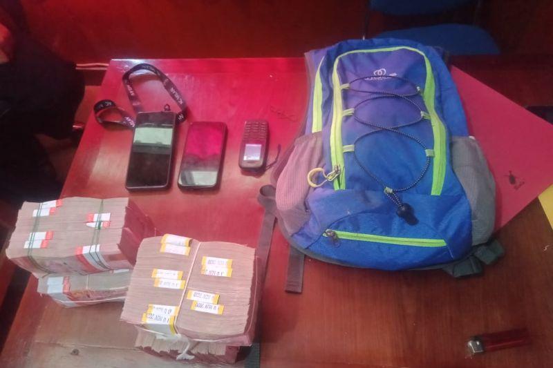 Satgas Nemangkawi tangkap penjual senjata kepada  KKB Puncak Jaya