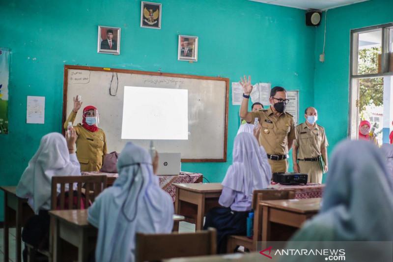 Uji coba pembelajaran tatap muka di Kota Bogor dihentikan, ini alasannya