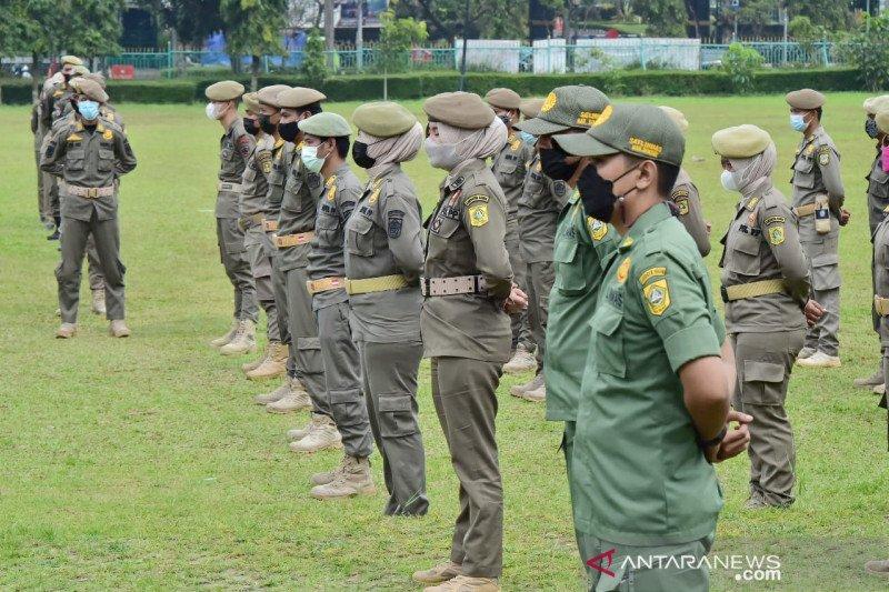 Satpol PP Bogor disiagakan tangani lonjakan kasus COVID-19