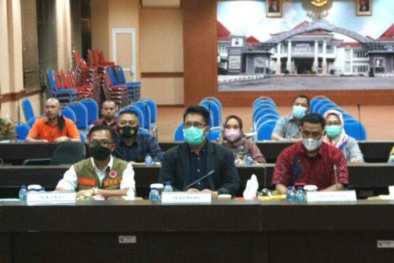 Pemkab Lampung Selatan ikuti rakor evaluasi PPKM Mikro