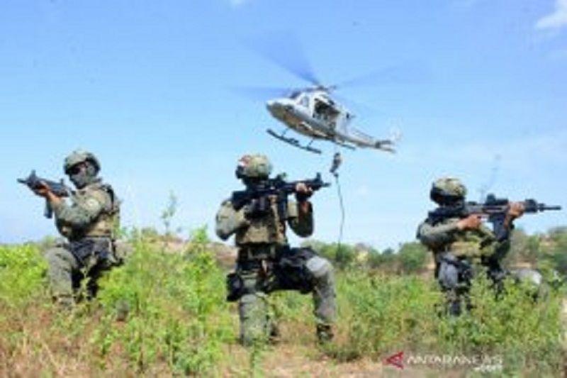 Marinir Indonesia dan Amerika Serikat gelar latihan pembebasan sandera