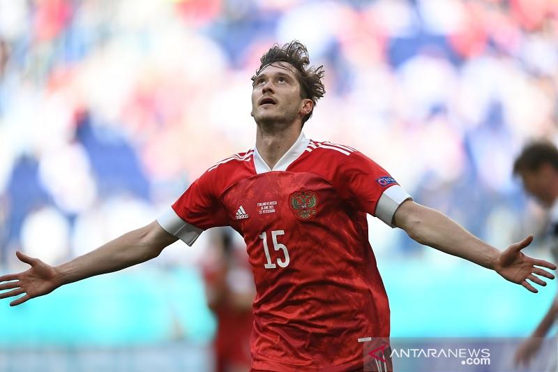 Euro 2020 - Miranchuk jaga asa timnas Rusia seusai tundukkan Finlandia 1-0