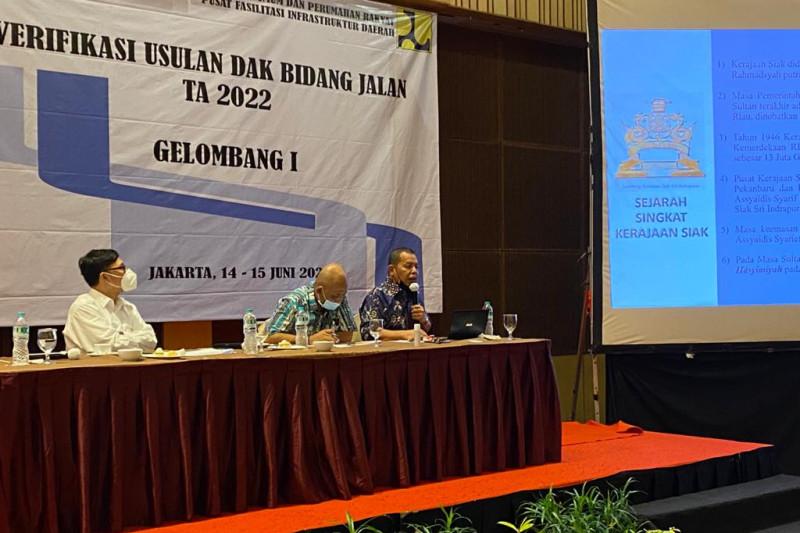 Kadis PU Tarukim Siak jadi narasumber di Kementerian PUPR di Jakarta