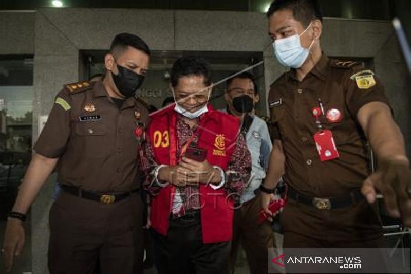 Mantan Sekda Provinsi Sumatera Selatan Ditahan