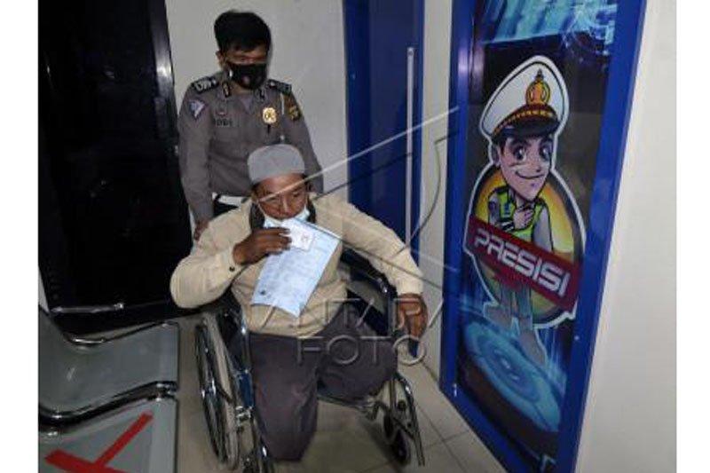 Pembuatan SIM khusus penyandang disabilitas