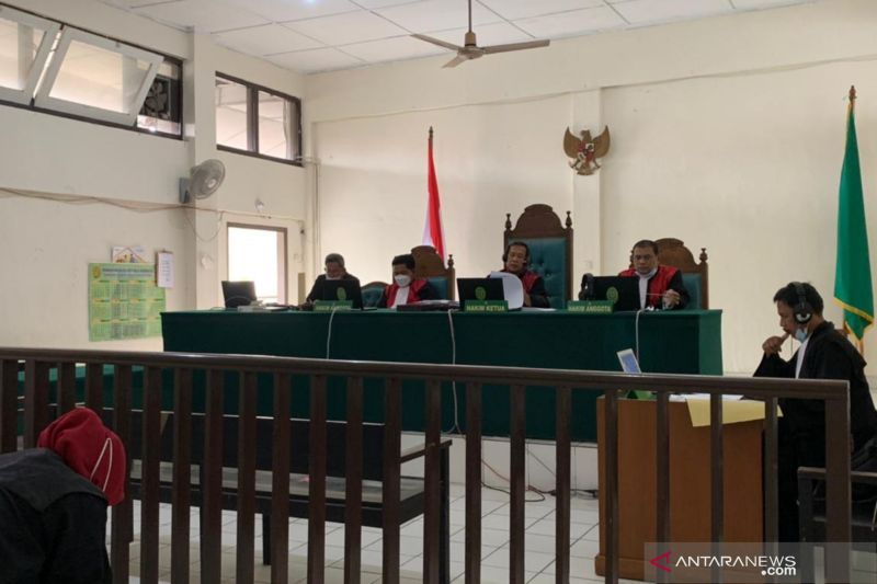 PN Palembang vonis kurir narkoba 20 tahun penjara