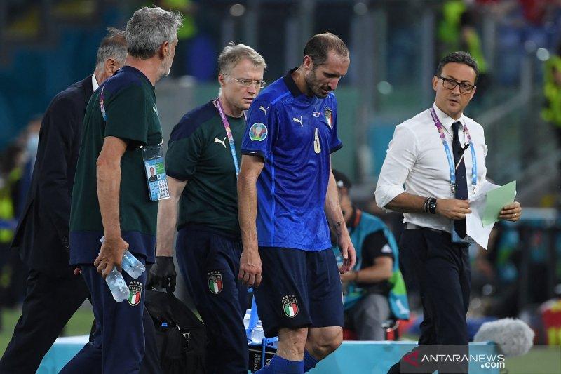 Euro 2020 - Kapten timnas Italia alami cedera paha saat ladeni Swiss