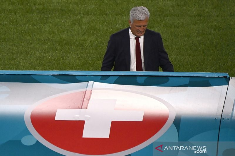 Swiss harus tinggalkan kekecewaan di Roma usai kalah dari Italia