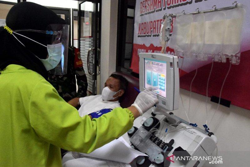 61 pasien COVID-19 Bekasi belum terlayani plasma konvalesen