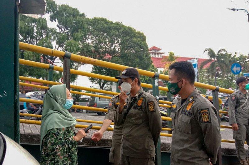 Yogyakarta kembali menggencarkan operasi masker di tempat umum