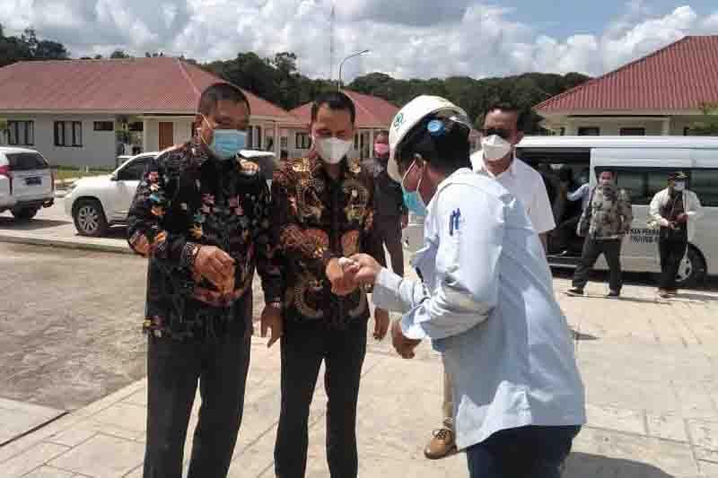 DPRD Kalteng cek pembangunan dan kesiapan PLTU di Gumas