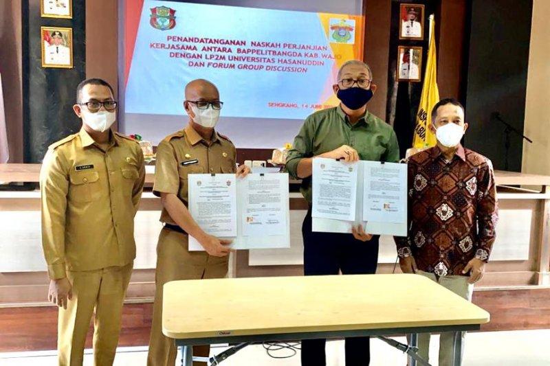 Unhas dan Balitbangda Wajo kerja sama pengembangan wisata budaya Tosora