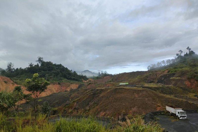 Di Kabupaten Bengkulu Tengah ditemukan banyak perusahaan tambang batu bara tak lakukan reklamasi