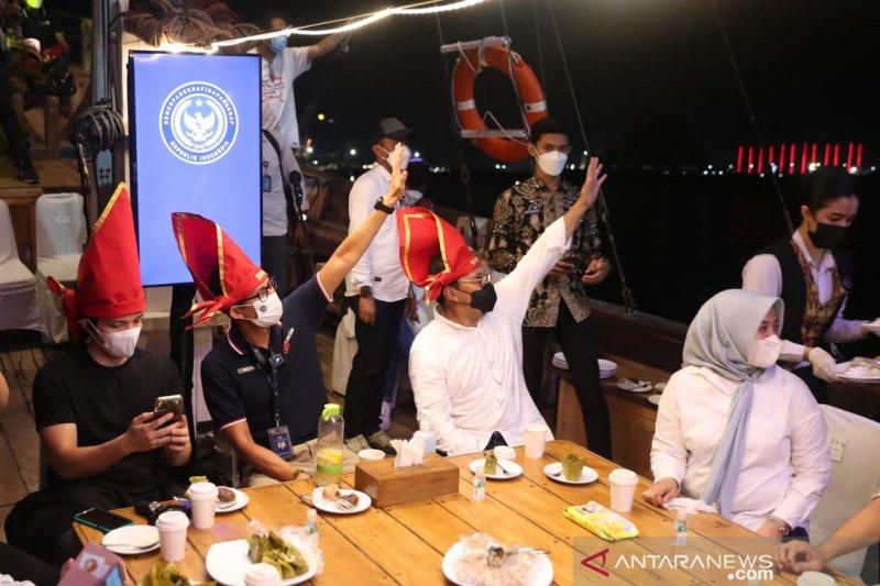 Menparekraf Sandiaga Uno dukung penuh pagelaran seni budaya F8 Makassar
