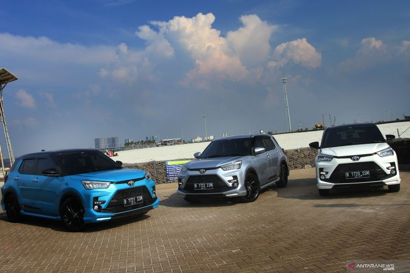 Toyota Raize 1.200cc diluncurkan
