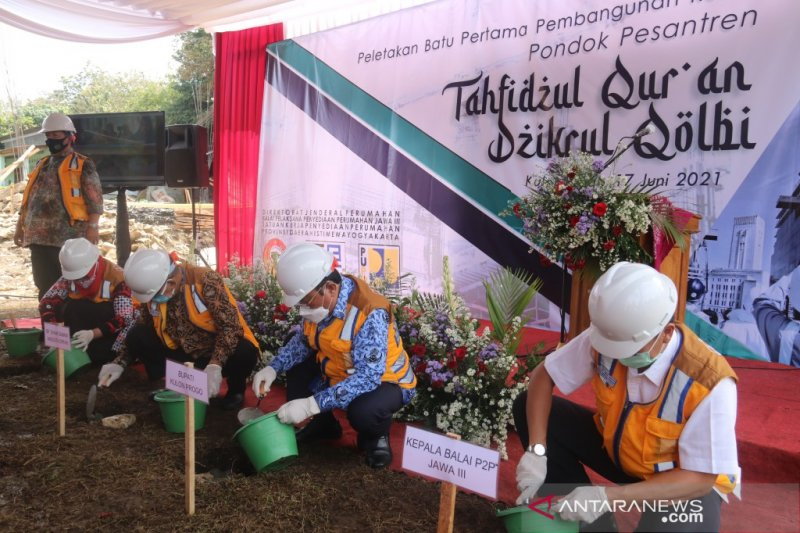 Kementerian PUPR bangun rumah susun Ponpes Tahfidzul Qur'an Dzikrul Qolbi