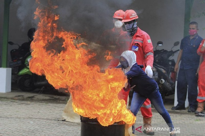 Sinergi Pertamina-warga Balongan, bangun budaya keselamatan lewat pembekalan mitigasi bencana