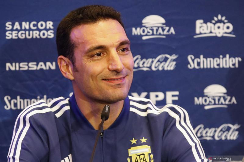 Pelatih Lionel Scaloni: Argentina akan bikin Suarez dan Cavani tidak tenang