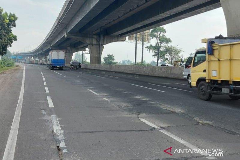 Jasa Marga rekonstruksi ruas tol Jakarta-Cikampek di Cikarang