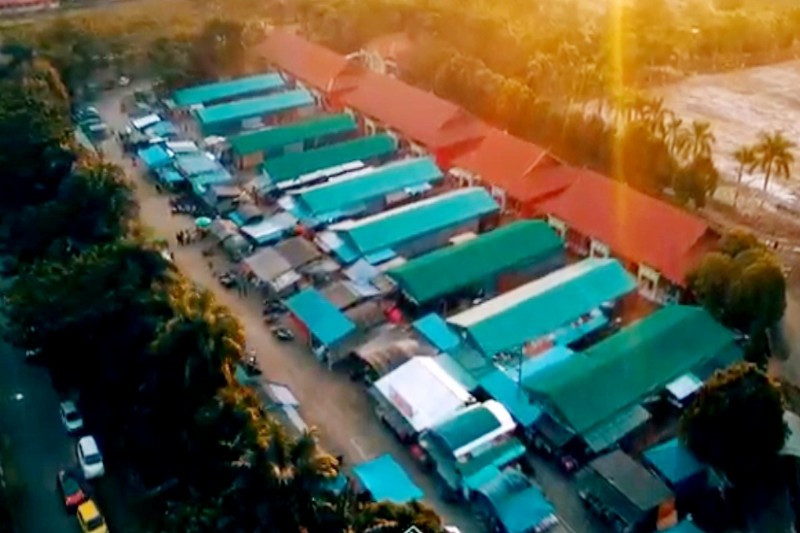 Berikut penjelasan Pemkab Mura terkait penataan pasar kawasan alun-alun