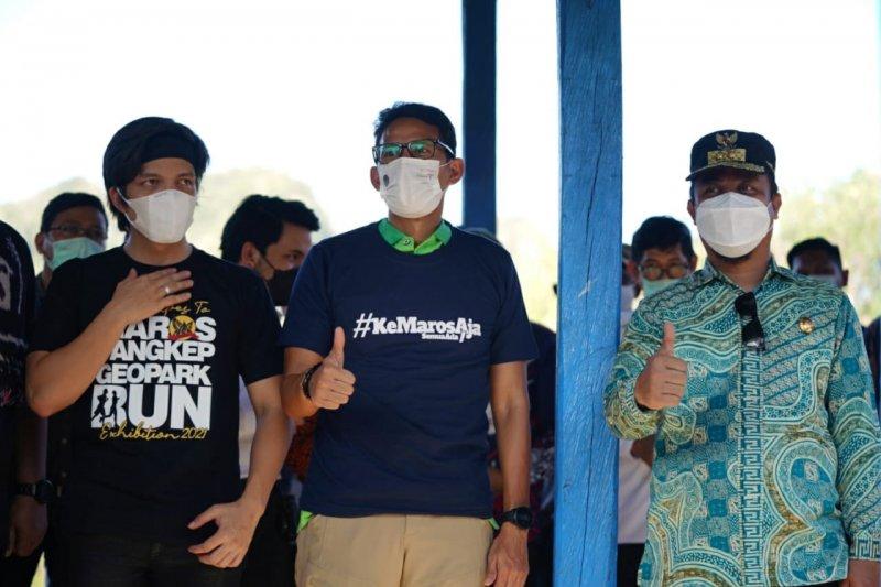 Sandiaga Uno canangkan 11 Desa Wisata di Kabupaten Sinjai