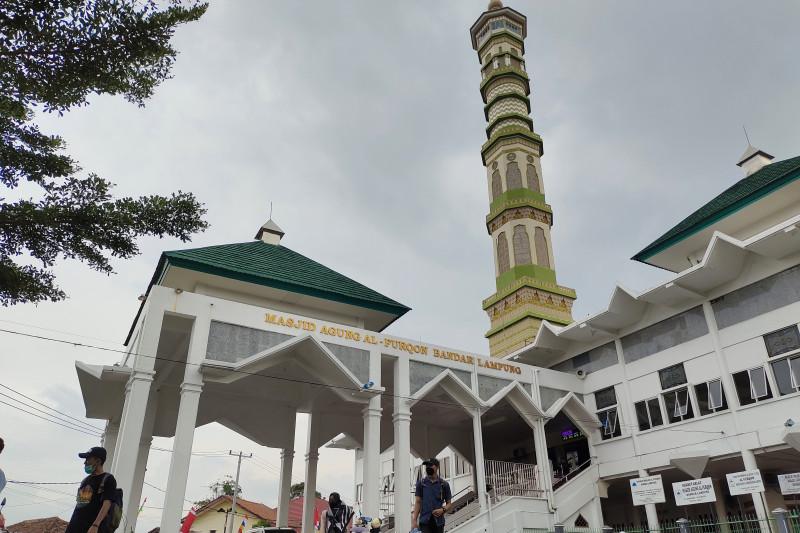 Wali Kota Bandarlampung sebut menara Masjid Al-Furqon bisa jadi ikon