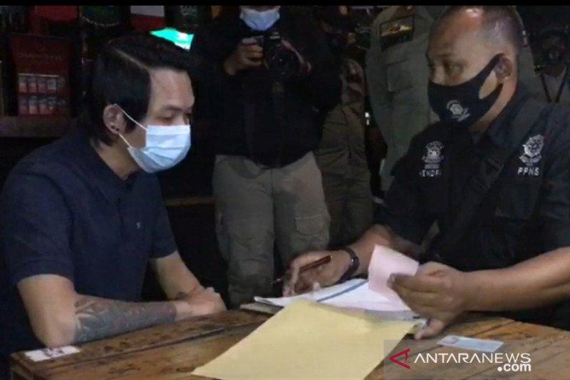 Tiga kafe di Kota Bogor disanksi denda akibat langgar jam operasional