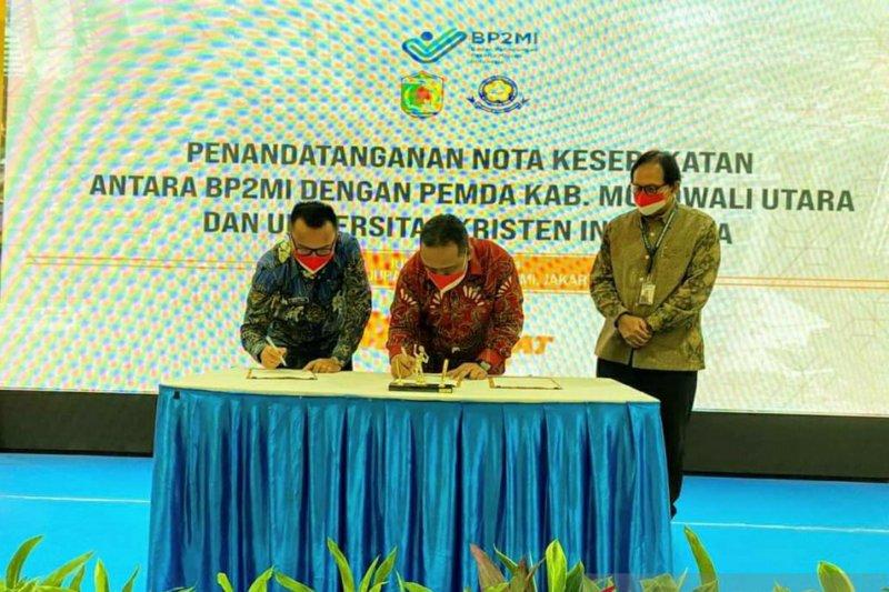 Pemkab Morowali Utara-BP2MI  jalin kerja sama bantu warga