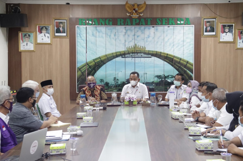Wakil Bupati Pringsewu terima kunjungan PAEI