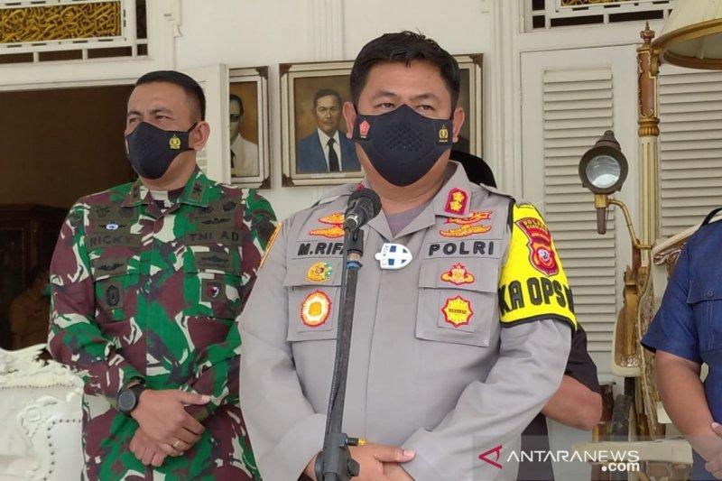 Polres Cianjur tingkatkan prokes setelah enam anggota terpapar