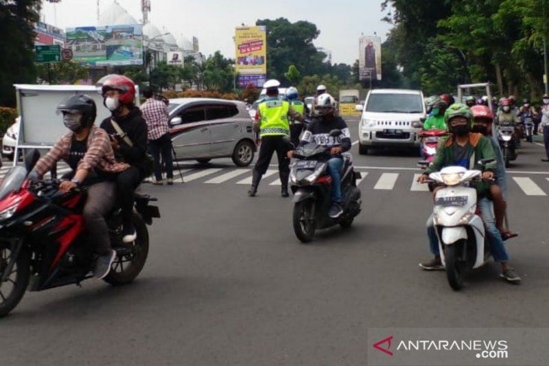 Ganjil-genap di Kota Bogor, 1.946 kendaraan dibalikkan arahnya