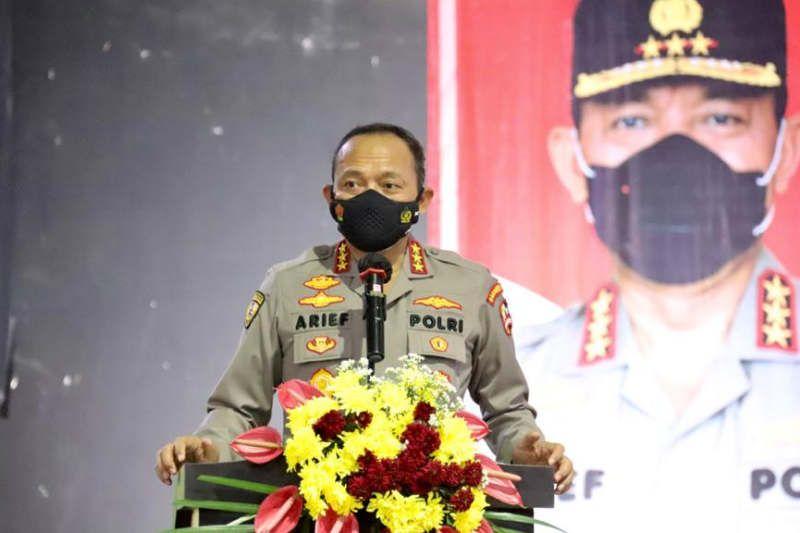 Anggota Senkom Mitra Polri dilatih jadi pelacak penularan COVID-19