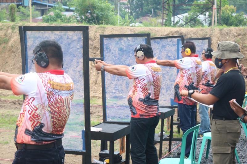 Brimob Polda Sulut laksanakan lomba menembak sambut Hari Bhayangkara