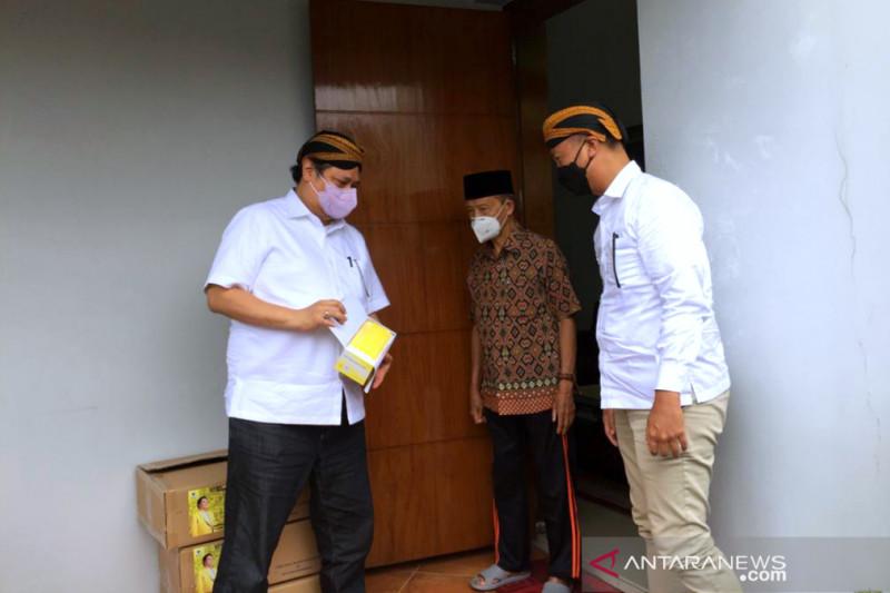Airlangga Hartarto dan Agus Gumiwang menemui Syafii Maarif di Yogyakarta