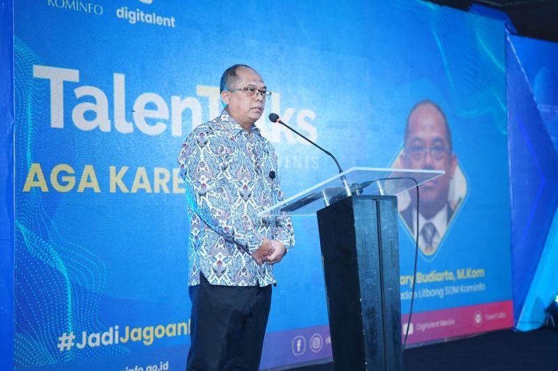Kominfo melatih 50 ribu talenta digital di lima kota