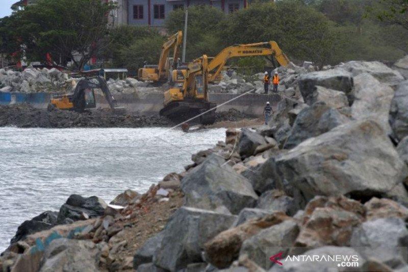 DLH: Tanggul abrasi Teluk Palu  perlu dilengkapi kajian kebencanaan