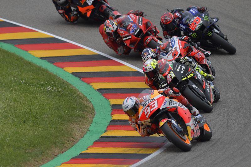 Juarai GP Jerman, Marc Marquez pertahankan status sebagai raja Sachsenring