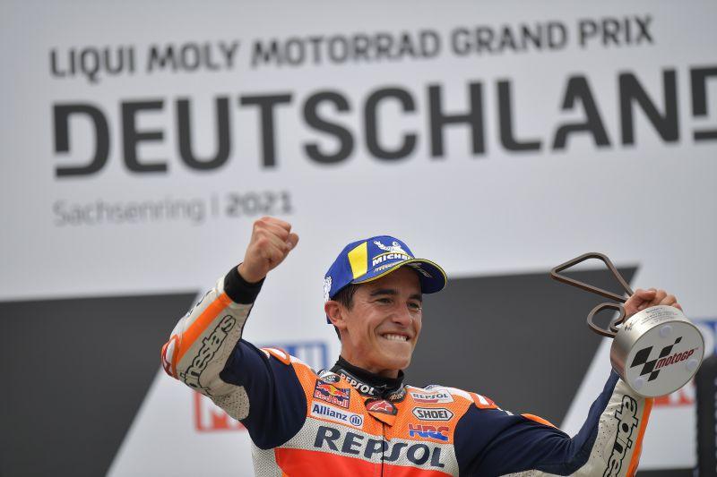Momentum di balik kemenangan Marc Marquez di MotoGP Jerman