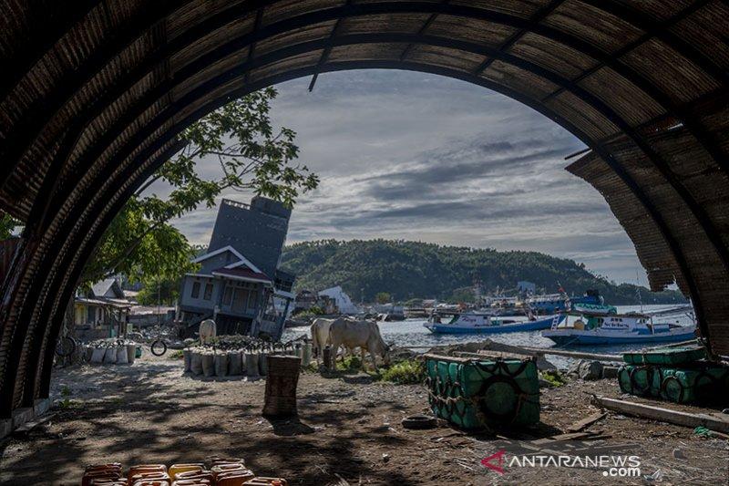 Bangunan Warisan Sejarah di Donggala Rusak