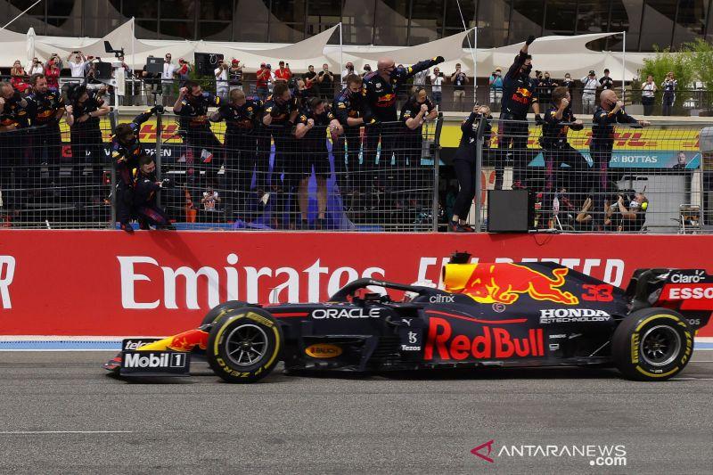 Max Verstappen kalahkan Hamilton di GP Prancis, hattrick untuk Red Bull
