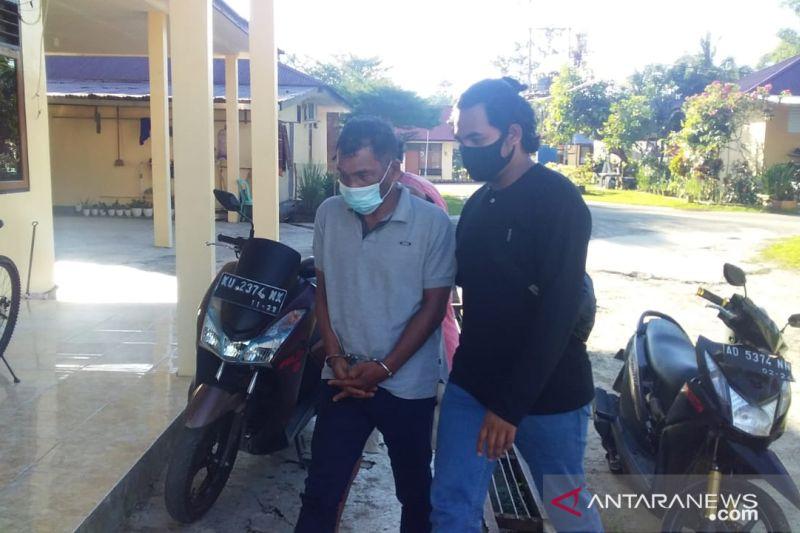 Brimob Polda Kaltara tangkap tersangka pemilik sabu mengaku wartawan