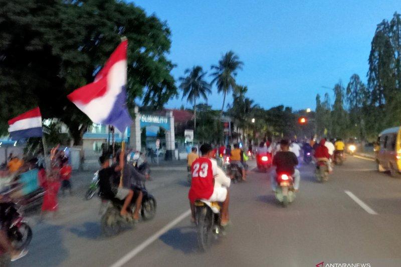 Penggemar Piala Eropa konvoi abaikan protokol kesehatan di Papua Barat