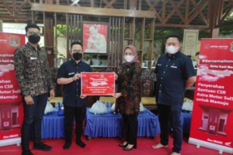 Astra motor bantu fasilitas MCK untuk warga Mamuju korban gempa