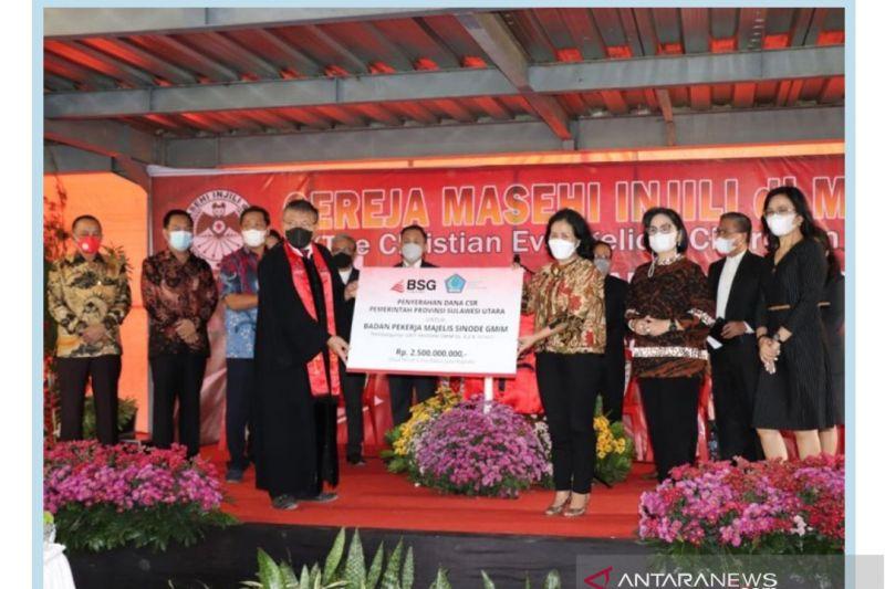 Badan Pekerja Sinode GMIM terima bantuan pendidikan  sebesar Rp2,5 M