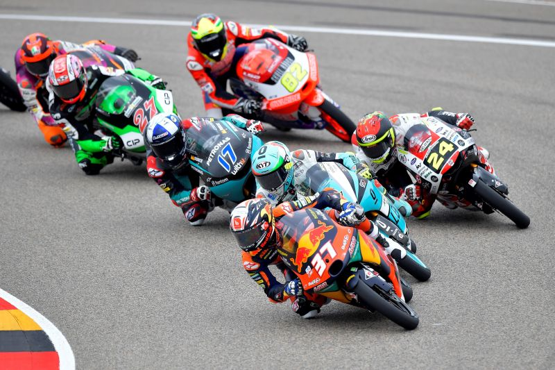 Acosta juara GP Jerman, Indonesian Racing kehilangan podium